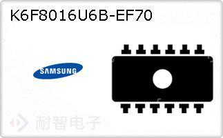 K6F8016U6B-EF70